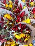 Ανθοδέσμες λουλουδιών στοκ εικόνες