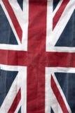 Κινηματογράφηση σε πρώτο πλάνο της σημαίας του Union Jack στοκ φωτογραφίες με δικαίωμα ελεύθερης χρήσης