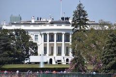 Κινηματογράφηση σε πρώτο πλάνο του Λευκού Οίκου στην Ουάσιγκτον Δ Γ στις ΗΠΑ στοκ εικόνες με δικαίωμα ελεύθερης χρήσης