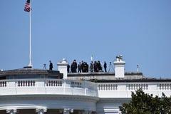 Κινηματογράφηση σε πρώτο πλάνο του Λευκού Οίκου στην Ουάσιγκτον Δ Γ στις ΗΠΑ στοκ φωτογραφία