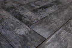 Σύγχρονο βινυλίου πάτωμα με την παλαιά ξύλινη μίμηση στοκ εικόνες