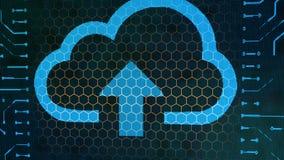 Κινηματογράφηση σε πρώτο πλάνο του πίνακα, του σύννεφου και του βέλους σημαδιών πορτοφολιών Στοκ φωτογραφία με δικαίωμα ελεύθερης χρήσης