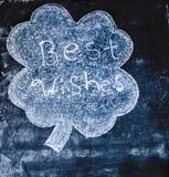 Κινηματογράφηση σε πρώτο πλάνο του σχεδίου πινάκων κιμωλίας - αποχαιρετιστήριη έννοια Στοκ φωτογραφίες με δικαίωμα ελεύθερης χρήσης