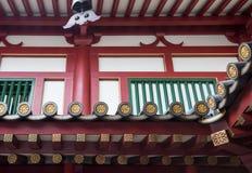 Κινηματογράφηση σε πρώτο πλάνο των μαρκιζών στο ναό παραδοσιακού κινέζικου στοκ φωτογραφία με δικαίωμα ελεύθερης χρήσης