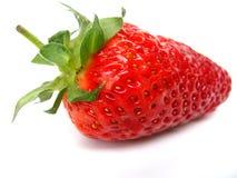 Κινηματογράφηση σε πρώτο πλάνο φραουλών στοκ εικόνα με δικαίωμα ελεύθερης χρήσης