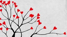 Κινηματογράφηση σε πρώτο πλάνο δέντρων βαλεντίνου φιλμ μικρού μήκους