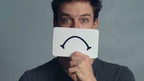 Κινηματογράφηση σε πρώτο πλάνο ατόμων που παρουσιάζει συγκινήσεις του απόθεμα βίντεο