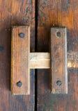 Κινηματογράφηση σε πρώτο πλάνο ενός ξύλινου ηλικίας σύρτη Στοκ φωτογραφίες με δικαίωμα ελεύθερης χρήσης