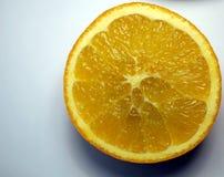 Κινηματογράφηση σε πρώτο πλάνο ενός πορτοκαλιού Στοκ Εικόνες