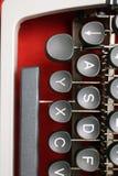Κινηματογράφηση σε πρώτο πλάνο/λεπτομέρεια από μια εκλεκτής ποιότητας γραφομηχανή Στοκ φωτογραφία με δικαίωμα ελεύθερης χρήσης