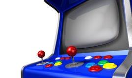 Κινηματογράφηση σε πρώτο πλάνο μηχανών Arcade Στοκ φωτογραφία με δικαίωμα ελεύθερης χρήσης