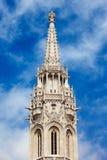 Matthias Church Bell Tower στη Βουδαπέστη Στοκ Φωτογραφία
