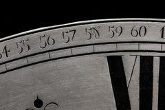 Κινηματογράφηση σε πρώτο πλάνο ρολογιών Στοκ Εικόνες