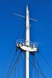 Κινηματογράφηση σε πρώτο πλάνο σκαφών ιστών Στοκ Φωτογραφίες