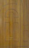 Κινηματογράφηση σε πρώτο πλάνο στην καφετιά κάθετη ξύλινη σύσταση υποβάθρου Στοκ Εικόνες