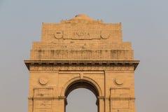 Κινηματογράφηση σε πρώτο πλάνο στο πολεμικό μνημείο πυλών της Ινδίας Στοκ εικόνες με δικαίωμα ελεύθερης χρήσης