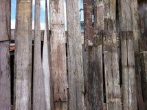 Κινηματογράφηση σε πρώτο πλάνο της παλαιάς ξύλινης ανασκόπησης σύστασης σανίδων Στοκ Εικόνες