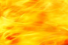 Κινηματογράφηση σε πρώτο πλάνο της πυρκαγιάς Στοκ Εικόνες