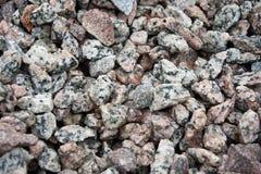 κινηματογράφηση σε πρώτο πλάνο της σύστασης πετρών Στοκ Φωτογραφίες