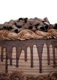 Κινηματογράφηση σε πρώτο πλάνο του κέικ σοκολάτας Στοκ φωτογραφία με δικαίωμα ελεύθερης χρήσης