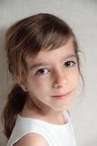 Κινηματογράφηση σε πρώτο πλάνο του κοριτσιού Στοκ Εικόνες