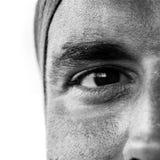 Κινηματογράφηση σε πρώτο πλάνο του ματιού Στοκ φωτογραφίες με δικαίωμα ελεύθερης χρήσης