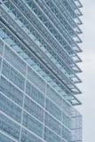 Κινηματογράφηση σε πρώτο πλάνο του ουρανοξύστη Στοκ Φωτογραφία