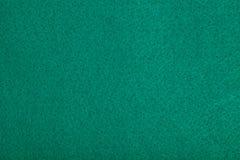 Κινηματογράφηση σε πρώτο πλάνο του πράσινου πίνακα πόκερ αισθητού Στοκ Εικόνες