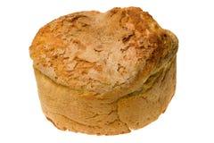 Παραδοσιακό σπιτικό ψωμί στο άσπρο υπόβαθρο Στοκ φωτογραφίες με δικαίωμα ελεύθερης χρήσης