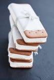 Μπισκότα παγωτού Στοκ εικόνες με δικαίωμα ελεύθερης χρήσης
