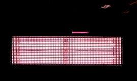 κινηματογράφηση σε πρώτο πλάνο του φωτιστικού κινηματογράφων στο μαύρο κλίμα στοκ φωτογραφίες