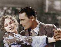 Κινηματογράφηση σε πρώτο πλάνο του χορού ζευγών στοκ φωτογραφίες με δικαίωμα ελεύθερης χρήσης