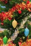 Κινηματογράφηση σε πρώτο πλάνο του Χριστούγεννο-δέντρου Στοκ φωτογραφίες με δικαίωμα ελεύθερης χρήσης
