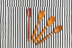 Κινηματογράφηση σε πρώτο πλάνο των εργαλείων κουζινών Στοκ φωτογραφίες με δικαίωμα ελεύθερης χρήσης