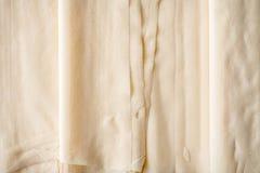 Κινηματογράφηση σε πρώτο πλάνο υποβάθρου φύλλων ζύμης Filo στοκ φωτογραφίες με δικαίωμα ελεύθερης χρήσης