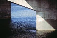 Κινηματογράφηση σε πρώτο πλάνο υποστήριξης γεφυρών Στοκ εικόνα με δικαίωμα ελεύθερης χρήσης