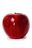 Κινηματογράφηση σε πρώτο πλάνο φρούτων της Apple που απομονώνεται Στοκ Φωτογραφία