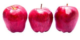 Κινηματογράφηση σε πρώτο πλάνο φρούτων της Apple Στοκ Φωτογραφία