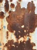 Κινηματογράφηση σε πρώτο πλάνο φωτογραφιών του παλαιού σκουριασμένου χάλυβα grunge Στοκ φωτογραφία με δικαίωμα ελεύθερης χρήσης