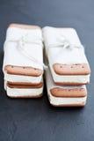Μπισκότα παγωτού Στοκ Φωτογραφίες