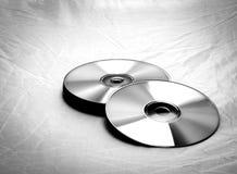 Κινηματογράφηση σε πρώτο πλάνο CD Στοκ φωτογραφίες με δικαίωμα ελεύθερης χρήσης