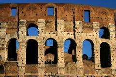 Κινηματογράφηση σε πρώτο πλάνο Colosseum Στοκ φωτογραφίες με δικαίωμα ελεύθερης χρήσης