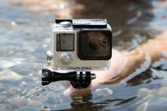 Κινηματογράφηση σε πρώτο πλάνο;;;;;; GoPro Στοκ φωτογραφία με δικαίωμα ελεύθερης χρήσης