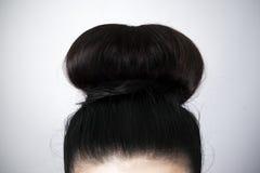 Κινηματογράφηση σε πρώτο πλάνο Hairstyle Στοκ Εικόνες