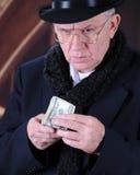 Κινηματογράφηση σε πρώτο πλάνο Scrooge Στοκ Φωτογραφίες