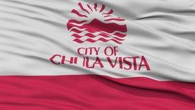 Κινηματογράφηση σε πρώτο πλάνο Vista Chula της σημαίας πόλεων Στοκ φωτογραφία με δικαίωμα ελεύθερης χρήσης