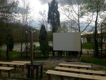 Κινηματογράφος στη λίμνη; Στοκ εικόνα με δικαίωμα ελεύθερης χρήσης