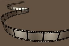 κινηματογράφος ταινιών Στοκ Εικόνες