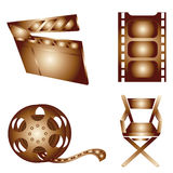 κινηματογράφος Στοκ φωτογραφία με δικαίωμα ελεύθερης χρήσης