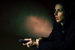 κινηματογράφος scary Στοκ εικόνα με δικαίωμα ελεύθερης χρήσης